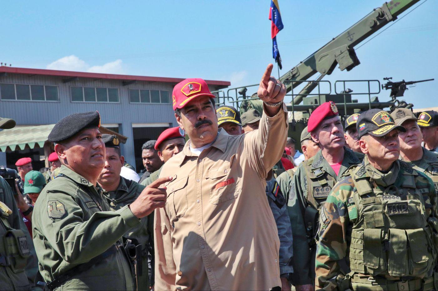 Nicolás Maduro anuncia cierre de frontera entre Venezuela y Brasil