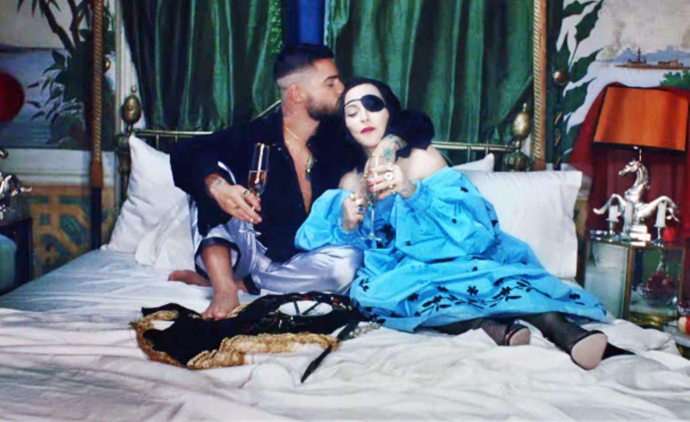 Se estrena videoclip del tema Medellín entre Maluma y Madonna, las críticas no faltaron