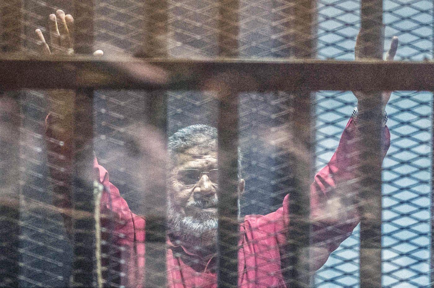 Murió el expresidente egipcio Mohamed Mursi