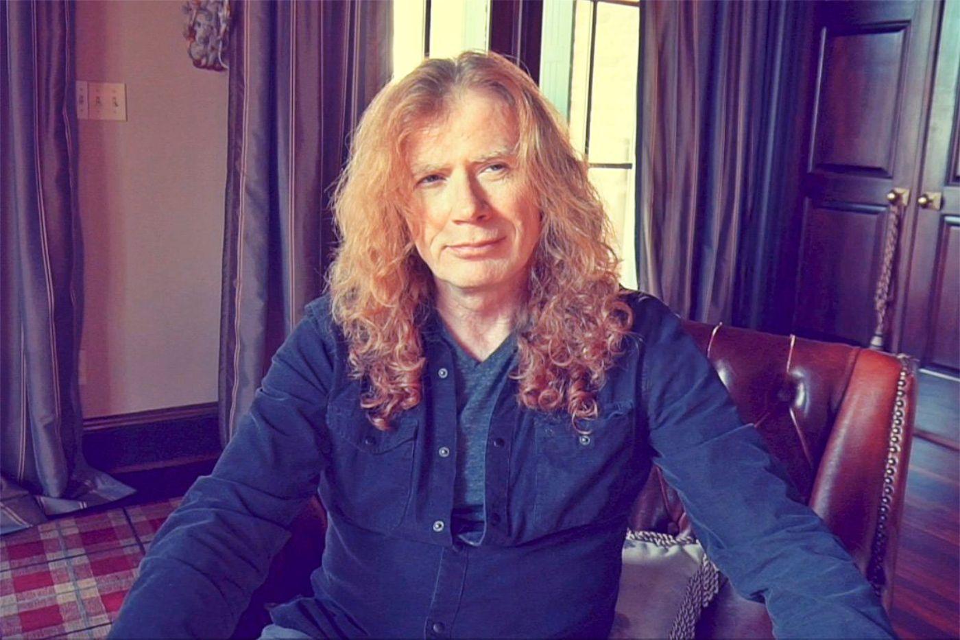 Dave Mustaine, vocalista de Megadeth, anuncia que padece de cáncer a la garganta