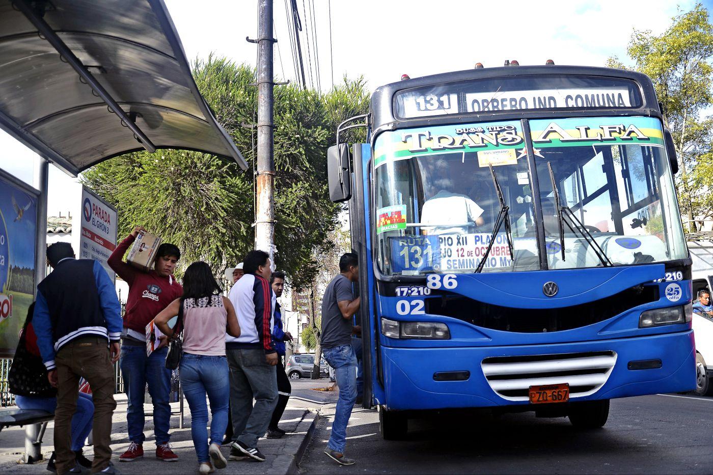 Se analiza subir el pasaje a 35 centavos en Quito