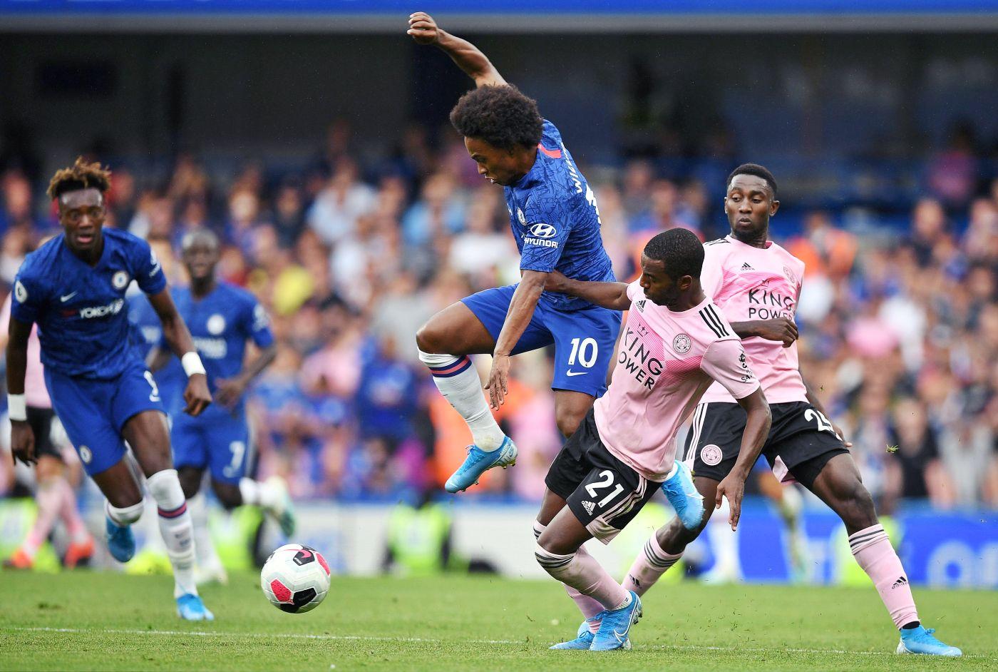 Chelsea empata con Leicester y sigue sin ganar con Lampard