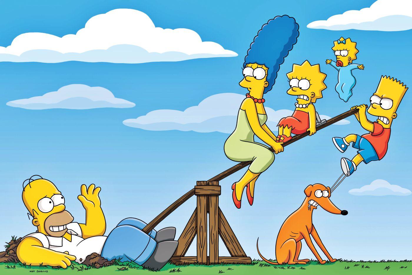 El #retoSimpson pondrá en TV a los fanáticos de la 'familia amarilla'