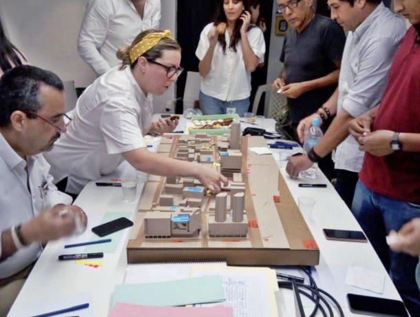 Se validaron resultados del diagnóstico urbano en la calle Panamá