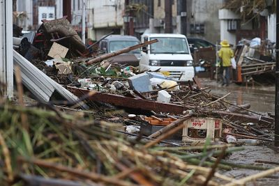 Decenas de muertos y desaparecidos en Japón tras lluvias torrenciales