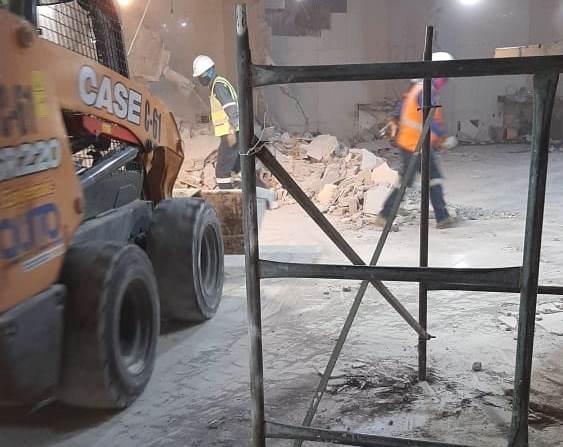 Se retoman obras en la terminal de Quitumbe
