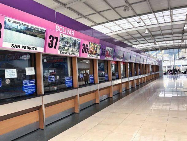 Las terminales no están operativas en Quito