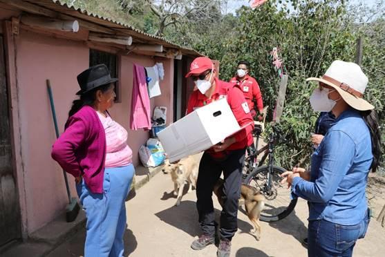 La Cruz Roja de Ecuador presenta su campaña Socio Humanitario para mantener su apoyo a personas vulnerables