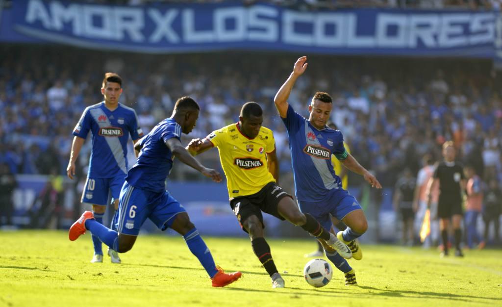 LigaPro: faltando dos fechas para el Clásico del Astillero, Barcelona y Emelec se podrían enfrentar en igualdad de puntos