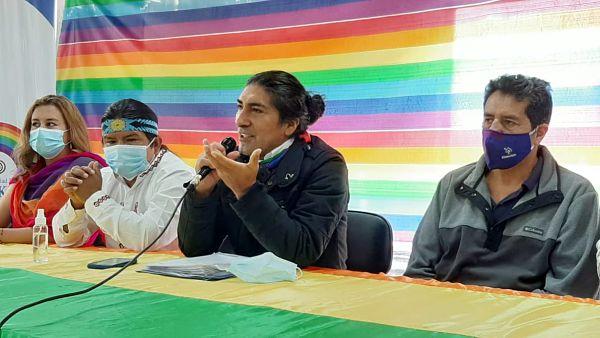 """""""Los verdaderos resultados están en el corazón de los ecuatorianos"""", dice Yaku Pérez tras la proclamación de los resultados de la primera vuelta electoral por el CNE"""