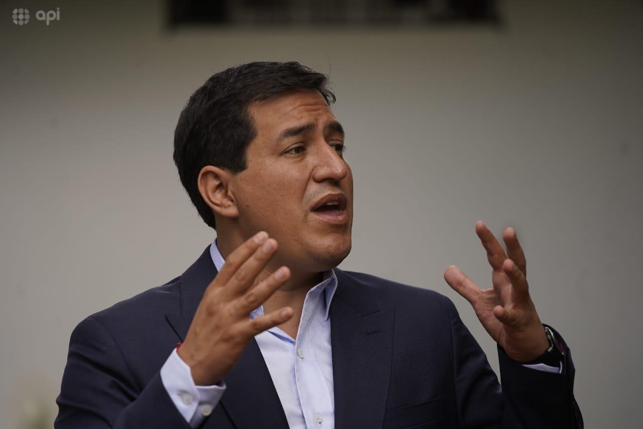 Andrés Arauz llama a Guillermo Lasso para felicitarlo por su triunfo
