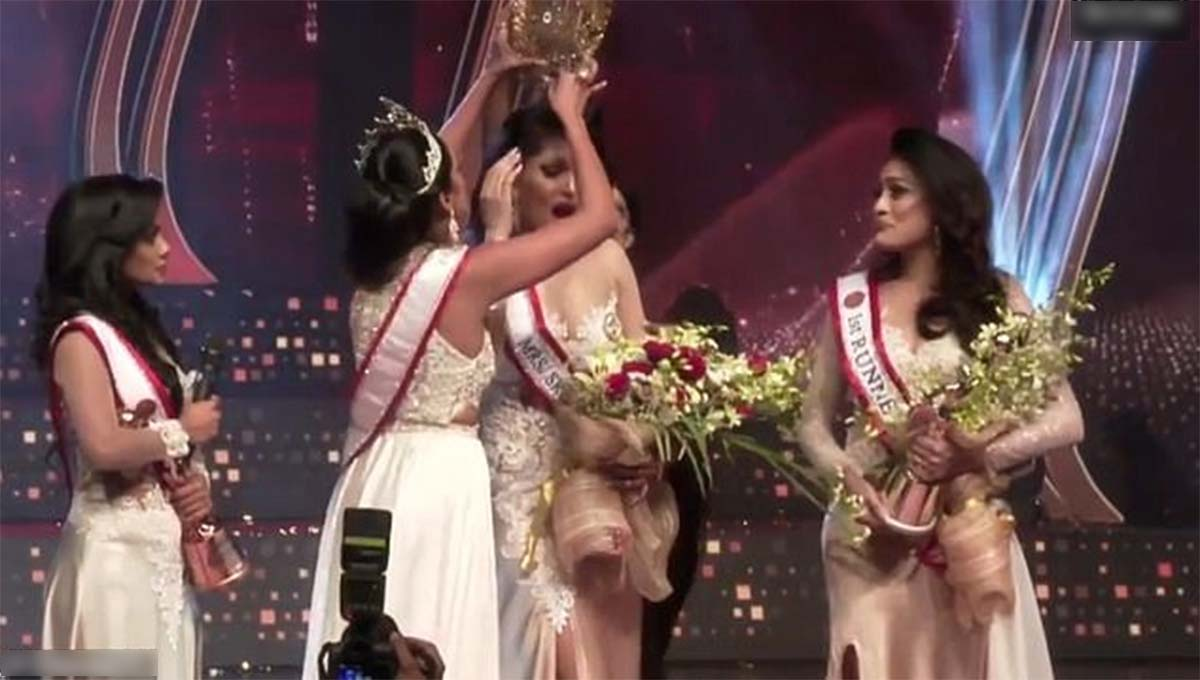 corona reina de belleza sri lanka