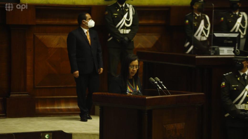 ¿Quién es Guadalupe Llori, la primera indígena en alcanzar la presidencia de la Asamblea Nacional?
