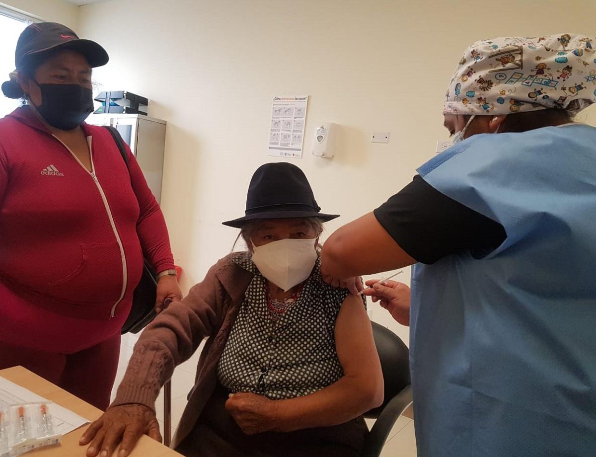 Vacunación en Quito