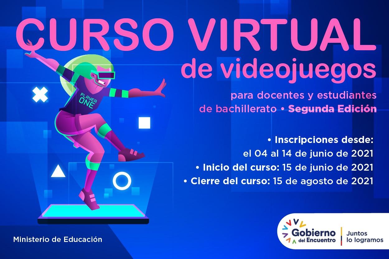 curso virtual de videojuegos