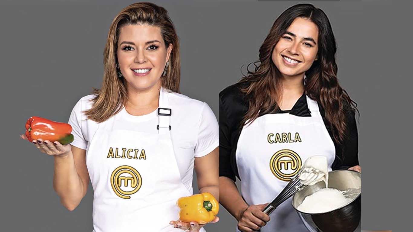 Masterchef Que Paso Entre Alicia Machado Y Carla Giraldo En Camerinos