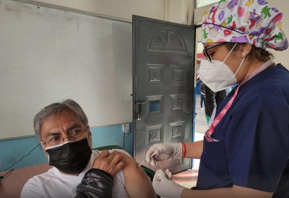 lugar vacunación
