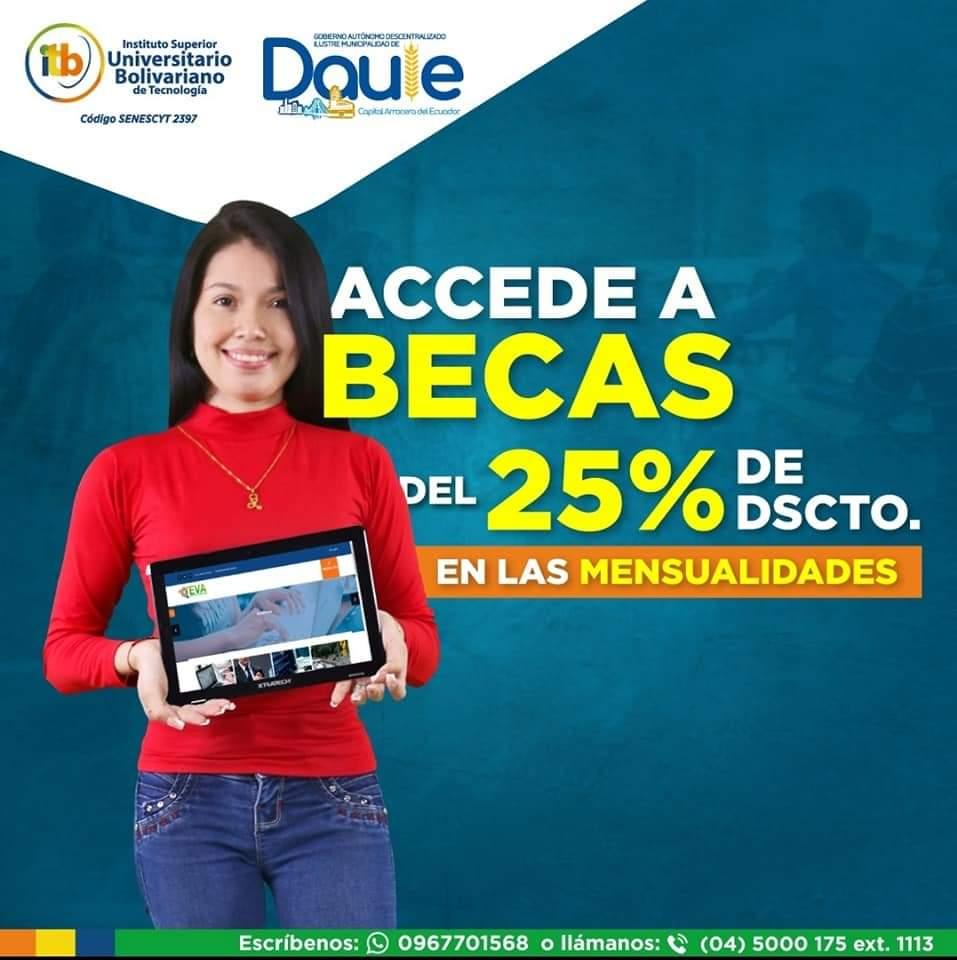 becas itb municipio de daule